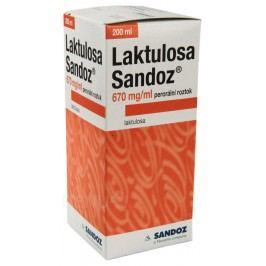 LAKTULOSA SANDOZ 670MG/ML perorální SOL 1X200ML IIA