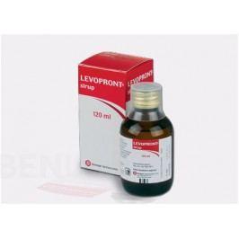 LEVOPRONT 6MG/ML sirup 1X120ML  Léky na kašel