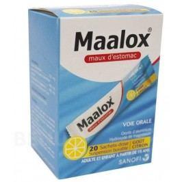 MAALOX CITRON SUSPENZE 460MG/400MG perorální SUS SCC 20 I