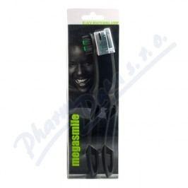 MegaSmile Zubní kartáček Black Whitening Loop 2ks