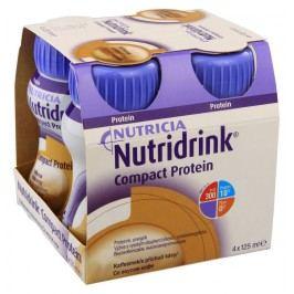 NUTRIDRINK COMPACT PROTEIN S PŘÍCHUTÍ KÁVY perorální SOL 4X125ML Speciální výživa