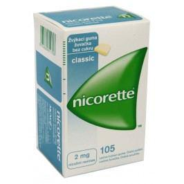 NICORETTE CLASSIC GUM 2MG léčivé žvýkací gumy 105