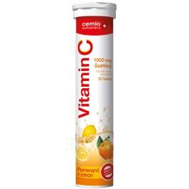 Cemio Vitamin C 1000mg citron+pomeranč eff.tbl.20