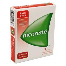 NICORETTE INVISIPATCH 25MG/16H transdermální EMP 7