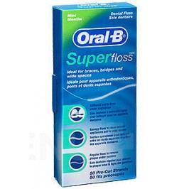 Oral-B dent.nit SuperFloss 50m - nastříhané pásky