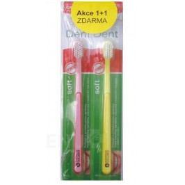 Cemio Dent Soft zubní kartáček akce 1+1 Zubní a mezizubní kartáčky