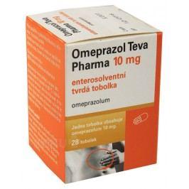 OMEPRAZOL TEVA PHARMA 10MG enterosolventní tvrdé tobolky 28
