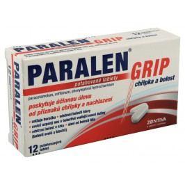 PARALEN GRIP CHŘIPKA A BOLEST 500MG/25MG/5MG potahované tablety 12 I