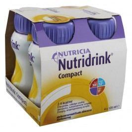 NUTRIDRINK COMPACT S PŘÍCHUTÍ MERUŇKOVOU perorální SOL 4X125ML