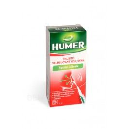 HUMER SINUSITIS velmi ucp.nos rýma sprej 15ml