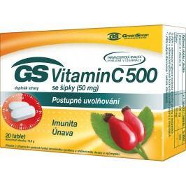 GS Vitamin C500 se šípky tbl.20