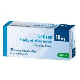 LETIZEN 10MG potahované tablety 20