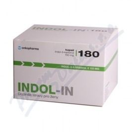 INDOL-IN cps.180 (doplněk stravy pro ženy)