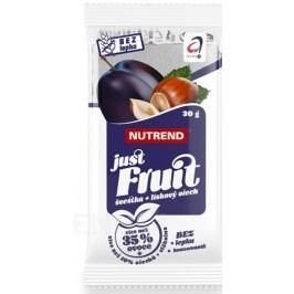 NUTREND Just Fruit švestka+lískový ořech 30g
