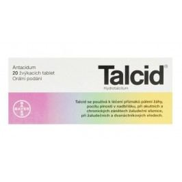 TALCID 500MG žvýkací tableta 20