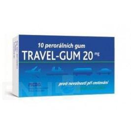 TRAVEL- GUM 20MG perorální GUM 10