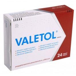 VALETOL 300MG/150MG/50MG neobalené tablety 24