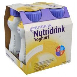 NUTRIDRINK YOGHURT S PŘÍCHUTÍ VANILKA A CITRÓN perorální SOL 4X200ML Speciální výživa