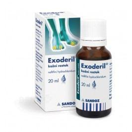 EXODERIL 10MG/ML kožní podání SOL 1X20ML Přípravky na svědění kůže a hlavy