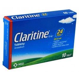 CLARITINE 10MG neobalené tablety 10 Přípravky na svědění kůže a hlavy