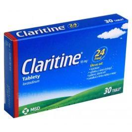 CLARITINE 10MG neobalené tablety 30 Přípravky na svědění kůže a hlavy