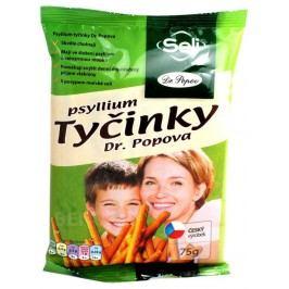 Dr.Popov Psyllium slané tyčinky s psylliem 75g