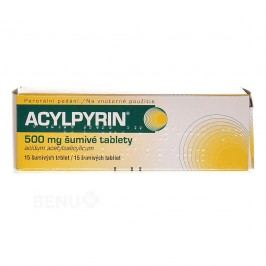 ACYLPYRIN 500MG šumivá tableta 15