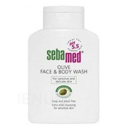 SEBAMED Mycí emulze obličej a tělo olivová 200ml