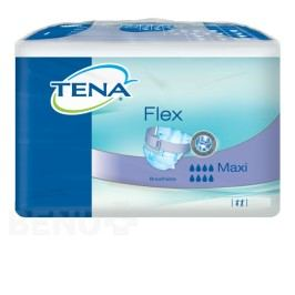 TENA Flex Maxi Small - Inkontinenční kalhotky s páskem na suchý zip (22ks)