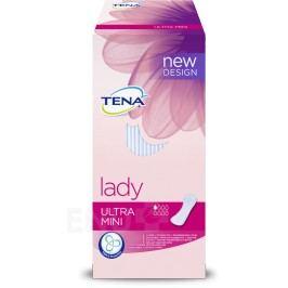 TENA Lady Ultra Mini - Inkontinenční vložky (10 ks +50% navíc)