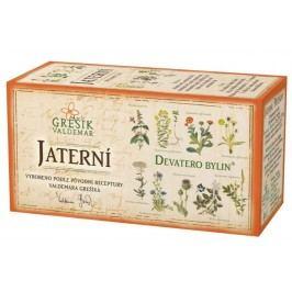 Grešík Devatero bylin Jaterní čaj n.s. 20x1g