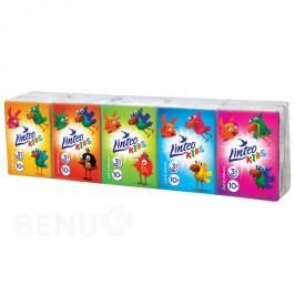 Kapesníčky LINTEO Kids 10x10ks 3-vrst. Mini