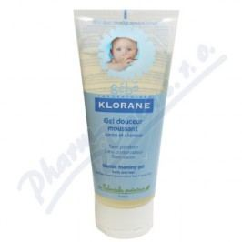 KLORANE BEBE Gel douc.mouss 200ml-jemný pěnivý gel