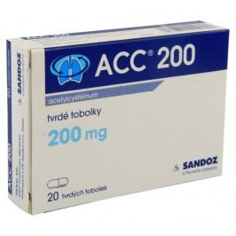 ACC 200 200MG tvrdé tobolky 20