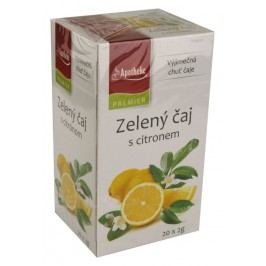 Apotheke Zelený čaj s citronem 20x2g n.s.