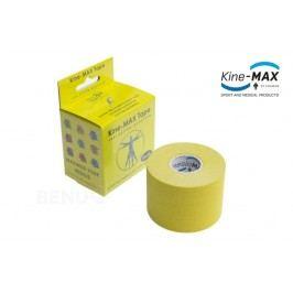 KineMAX SuperPro Cot. kinesiolog.tape žlutá 5cmx5m