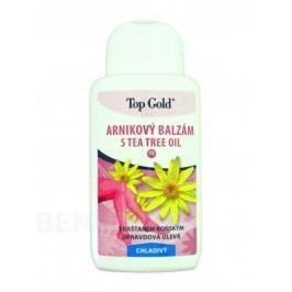 TOP GOLD Arnikový balzám s Tea Tree Oil 200ml