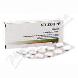 ACYLCOFFIN 450MG/50MG neobalené tablety 10