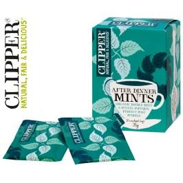 čaj Clipper After Dinner Mints Mát.fen.zázv.20n.s.