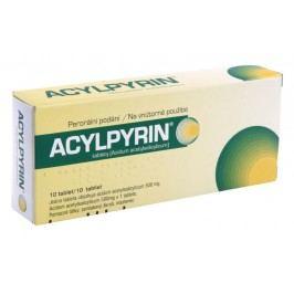 ACYLPYRIN 500MG neobalené tablety 10 Léky na migrény a bolesti hlavy
