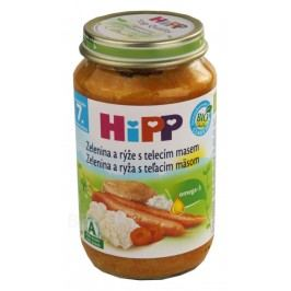 HiPP JUNIOR BIO Zel.s rýží a telec.m. 220g