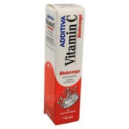 ADDITIVA VITAMIN C BLUTORANGE 1000MG šumivá tableta 20 Léky na posílení imunity
