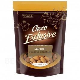 Mandle v mléčné čokoládě se skořicí 175g