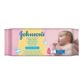 JOHNSONS extra sens. dětské vlh. ubrousky 56 ks