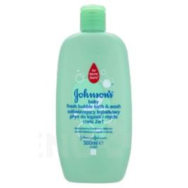JOHNSONS Baby Fresh bubl. koupel a gel 2v1 500 ml