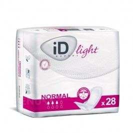 VLOŽKY ABSORPČNÍ ID EXPERT LIGHT NORMAL 350ML,COTTON FEEL,28KS