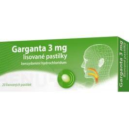 GARGANTA 3MG lisovaná pastilka 20