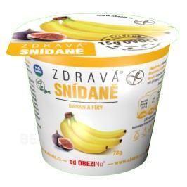 Zdravá snídaně od Obezinu banán a fíky 78g