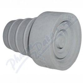 Násadec na berle č.3 TS pryž.šedý kovov.výztuž