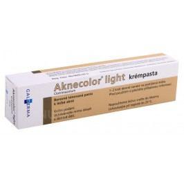 AKNECOLOR LIGHT KRÉMPASTA 10MG/G kožní podání PST 1X30G Léky na akné